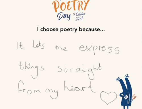 National Poetry Day 2021 – 7th of October